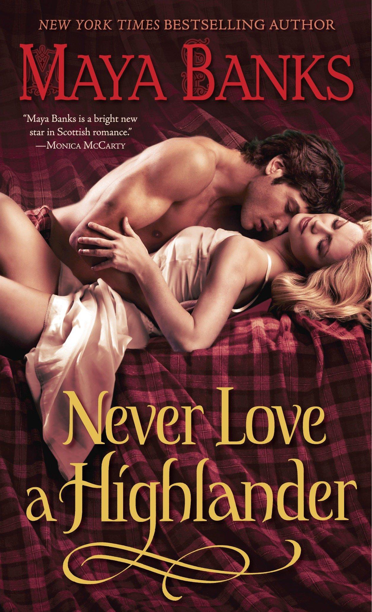 Never love a highlander cover image