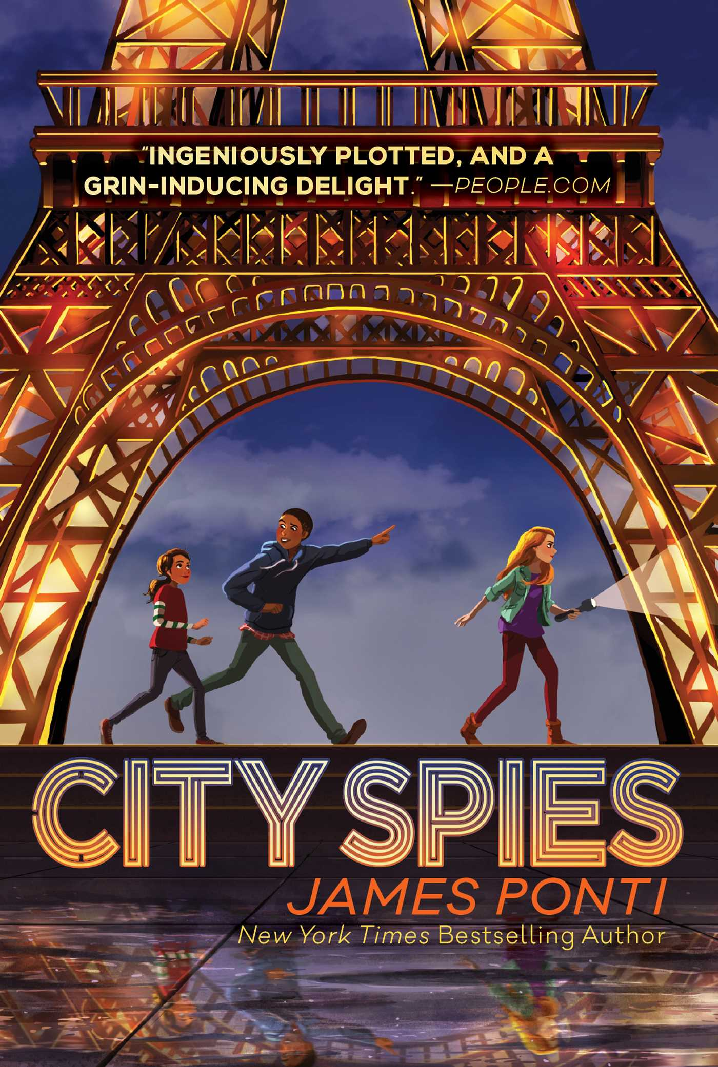 City spies [electronic resource (downloadable eBook)]