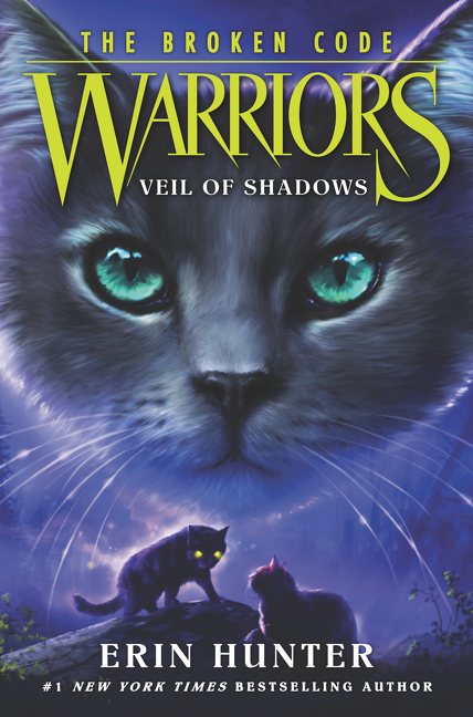 Cover Image of Warriors: The Broken Code #3: Veil of Shadows