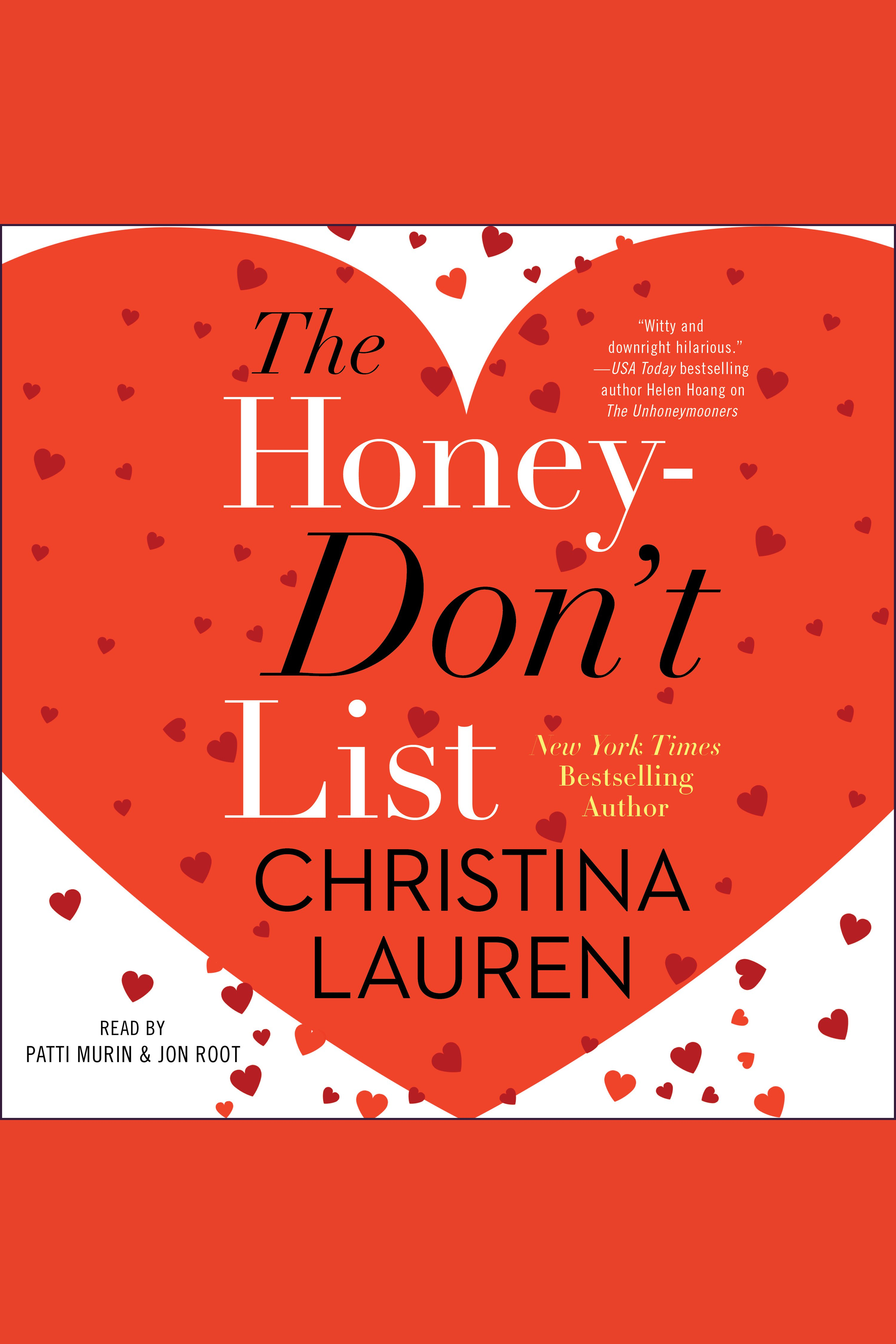The honey-don't list cover image