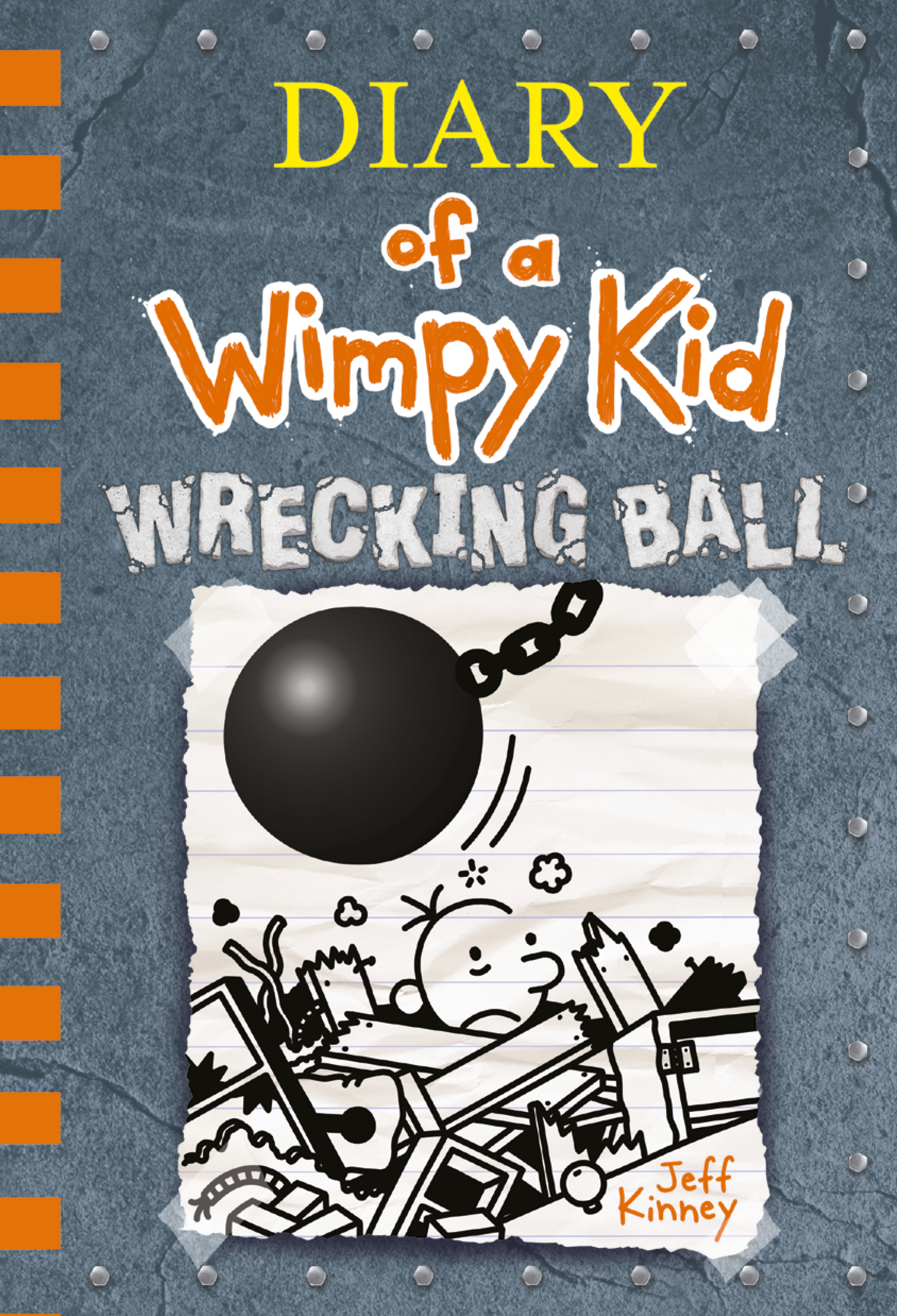 Cover Image of Wrecking Ball (Diary of a Wimpy Kid Book 14)