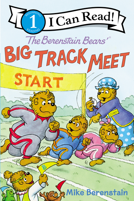 Cover Image of The Berenstain Bears' Big Track Meet