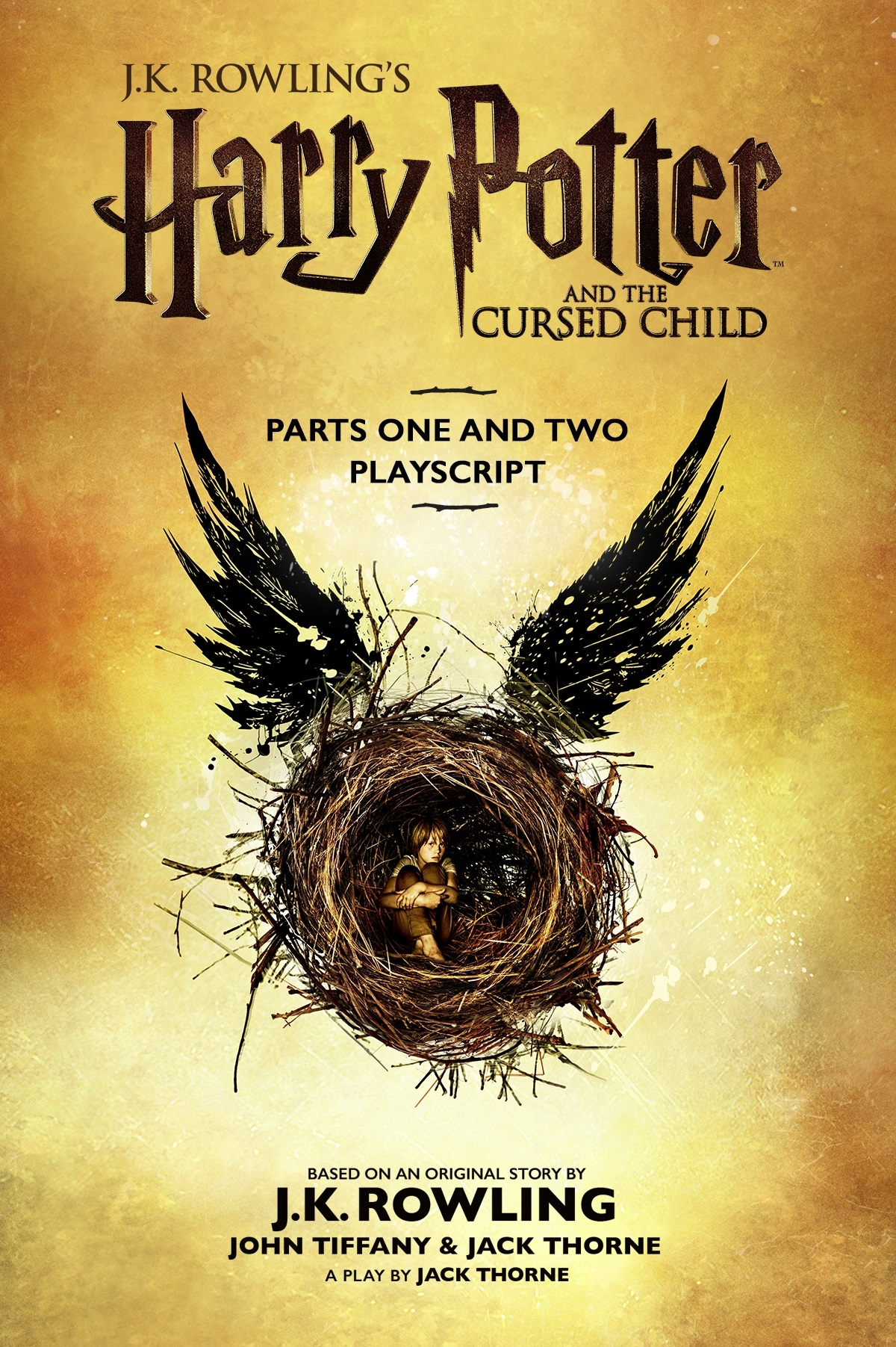Cover Image of Harry Potter and the Cursed Child - Parts One and Two