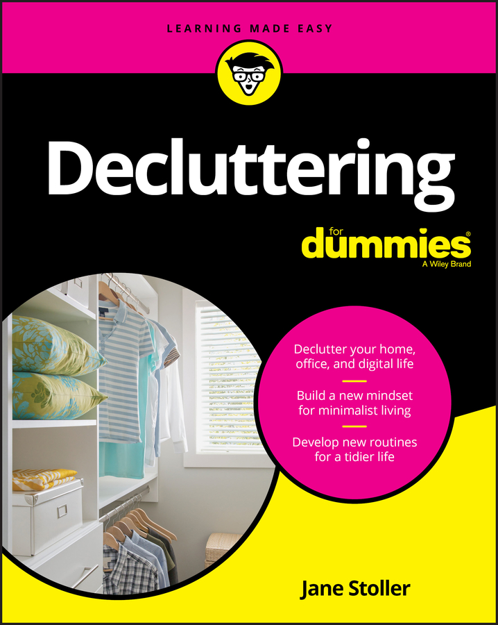Decluttering for dummies cover image