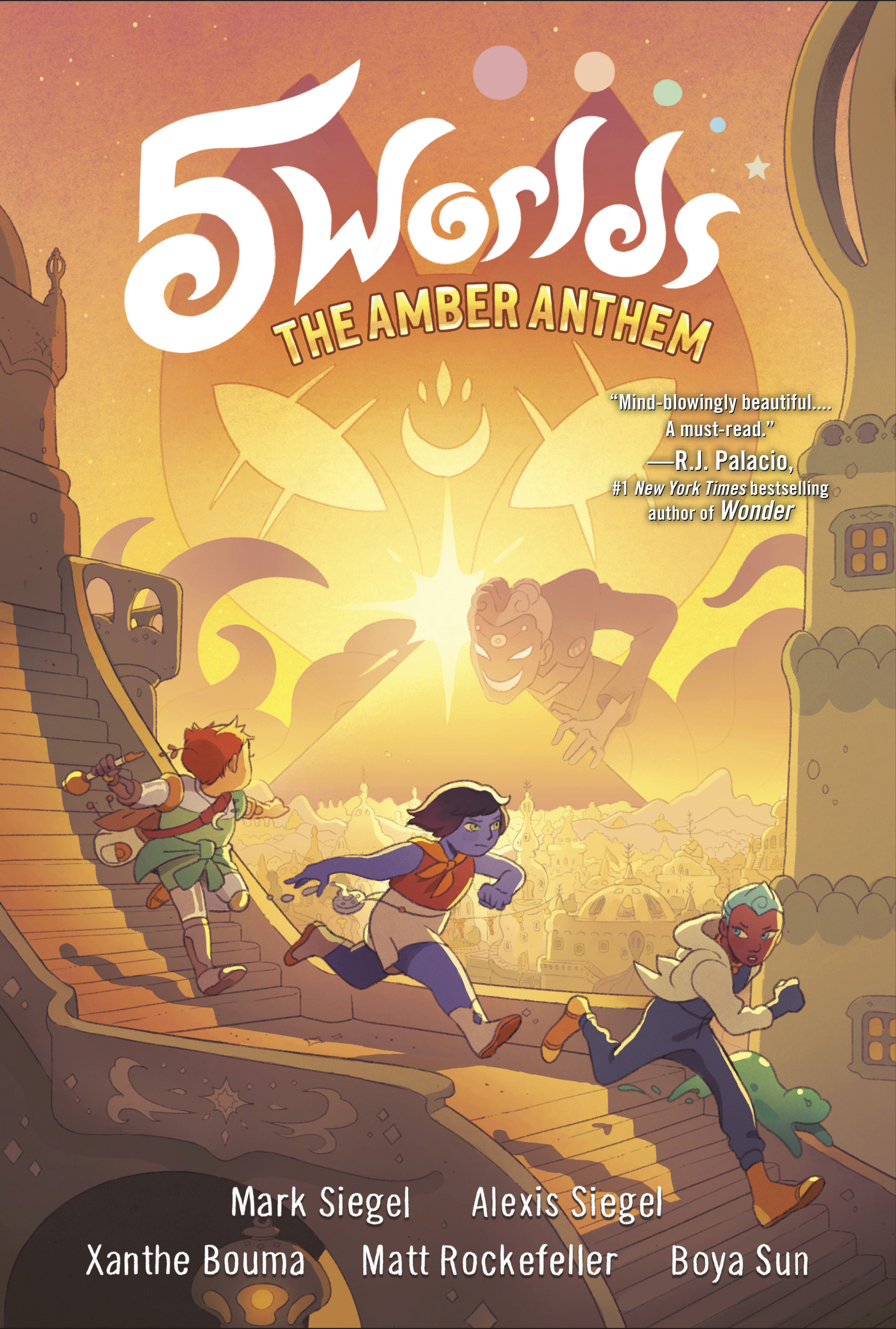 5 Worlds Book 4: The Amber Anthem [electronic resource (downloadable eBook)]
