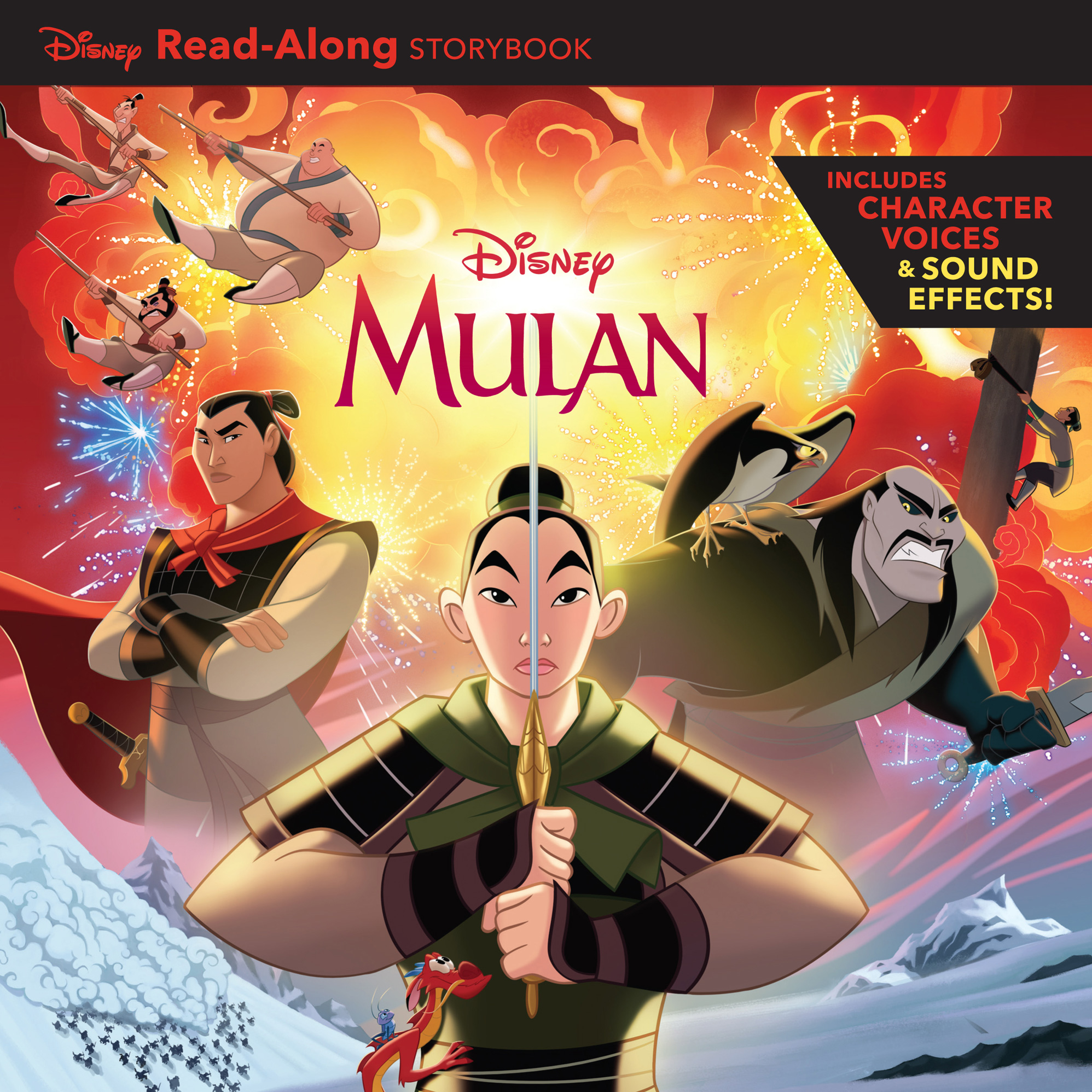 Mulan Read-Along Storybook