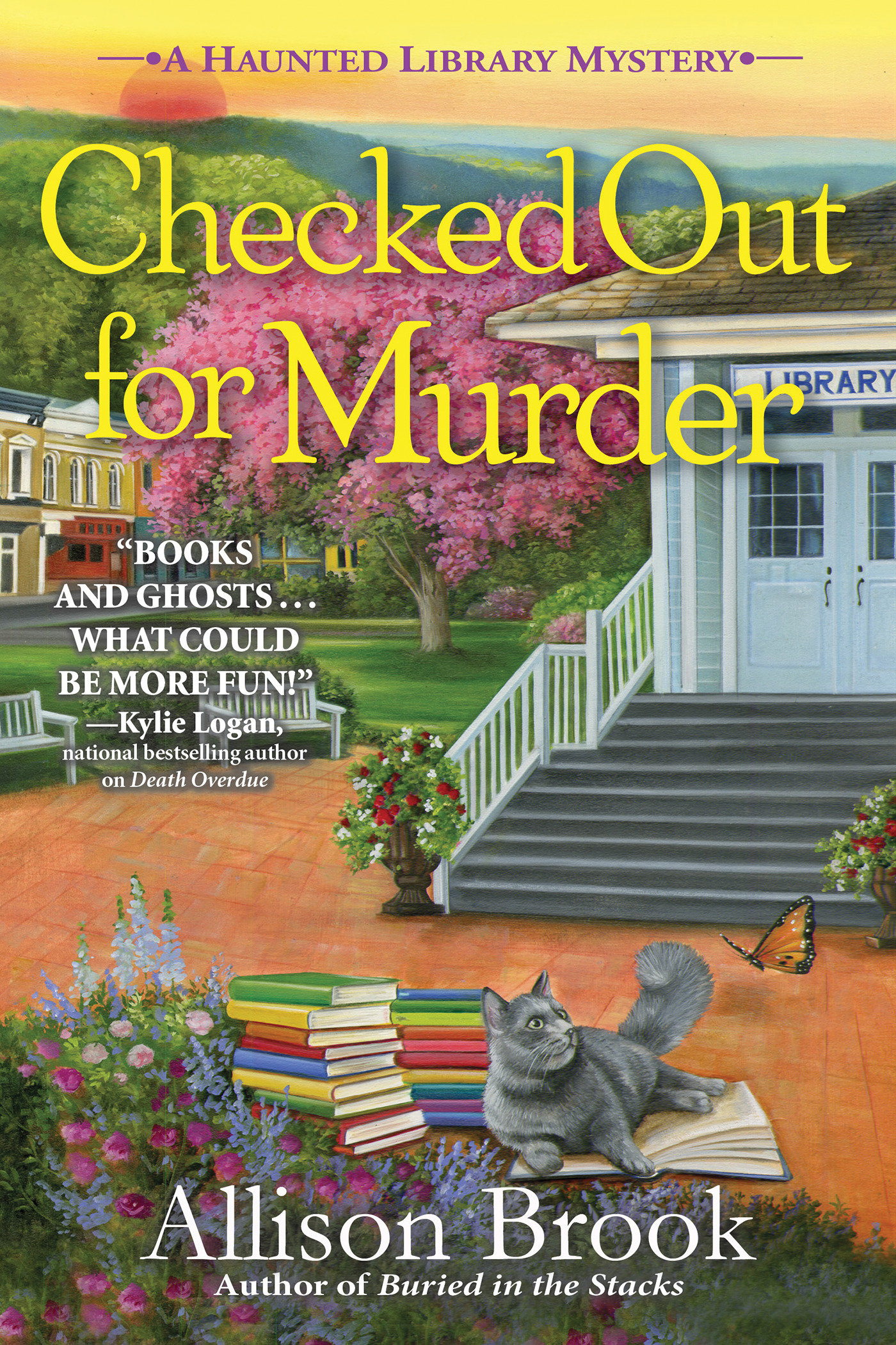 Checked Out for Murder A Haunted Library Mystery
