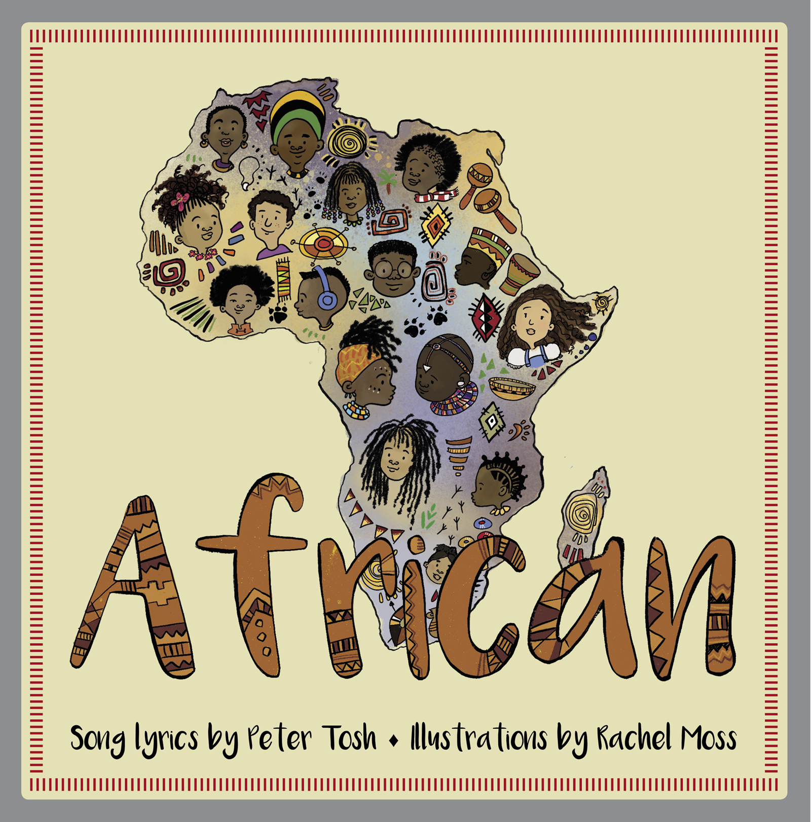 African [electronic resource (downloadable eBook)] : a Children's Picture Book.