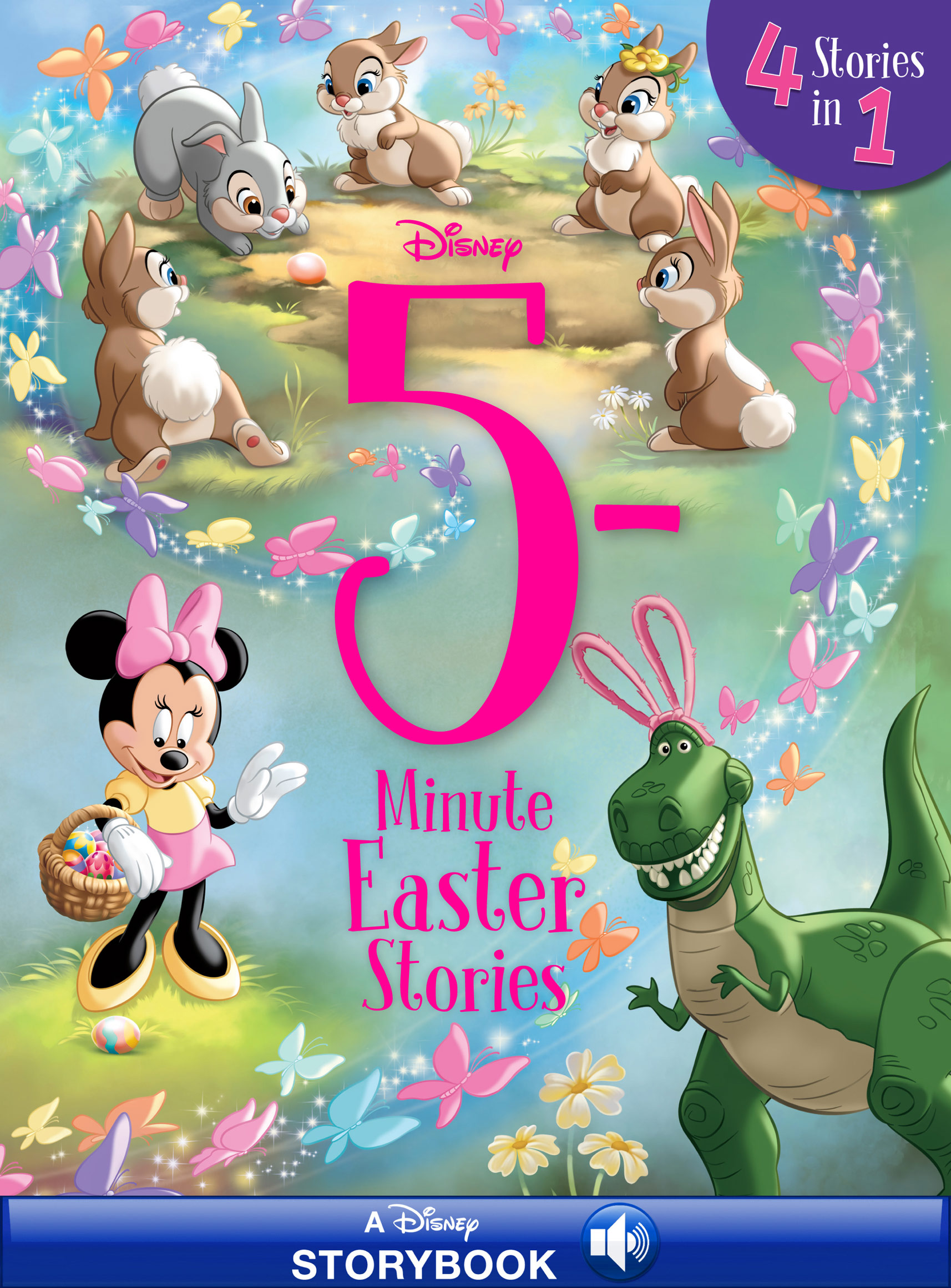 5-Minute Easter Stories [electronic resource (downloadable eBook)] : 4 Stories in 1 Read-Along
