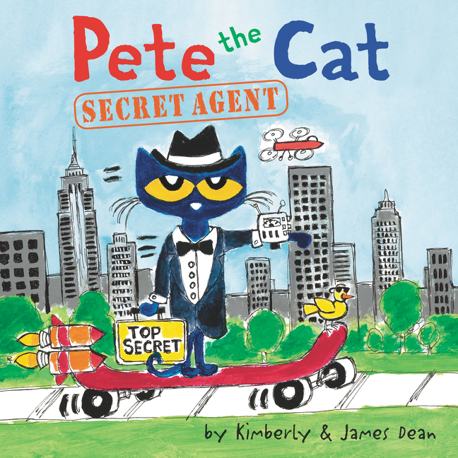 Pete the Cat: Secret Agent [electronic resource]