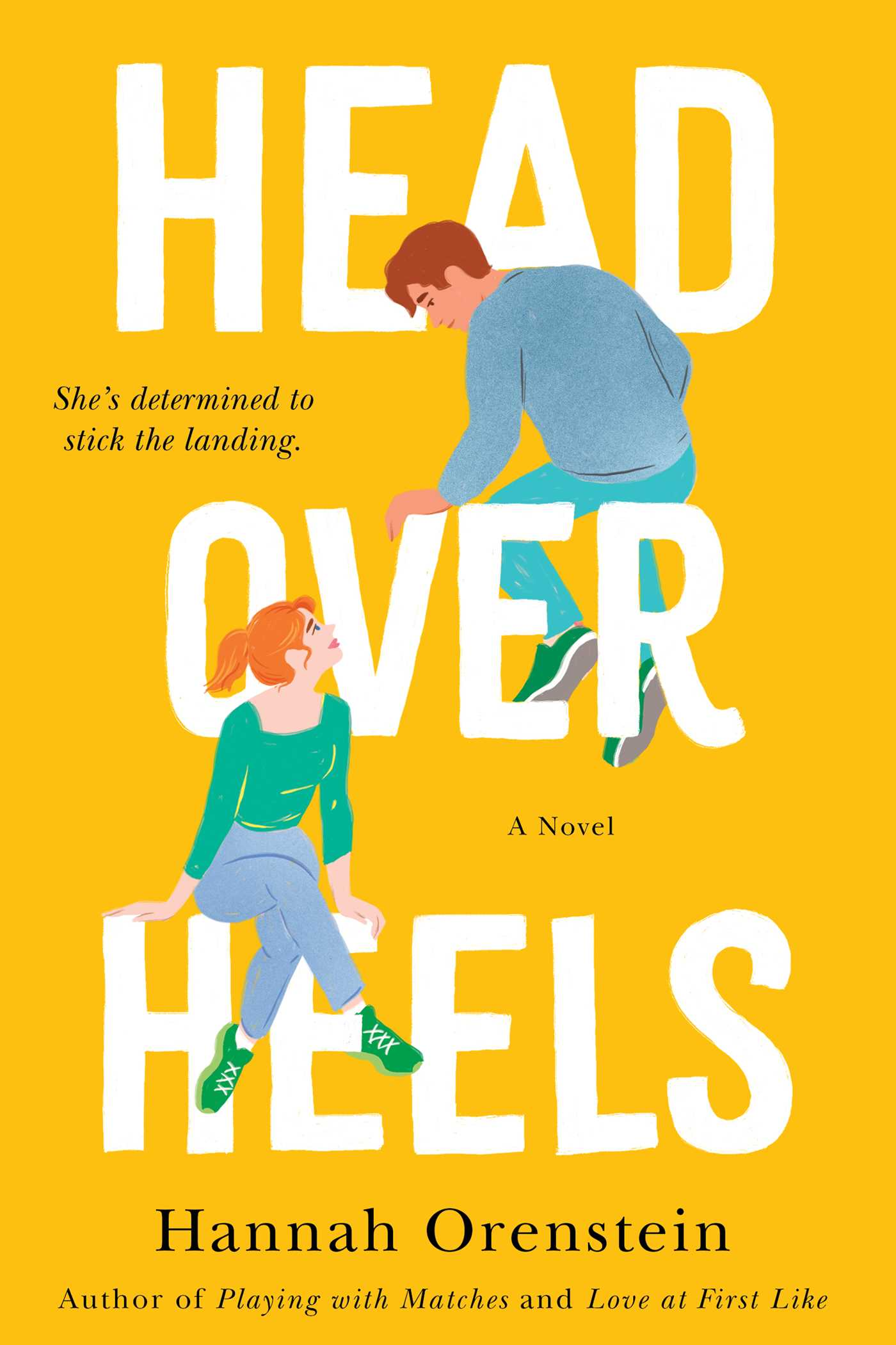 Cover image for Head Over Heels [electronic resource] : A Novel