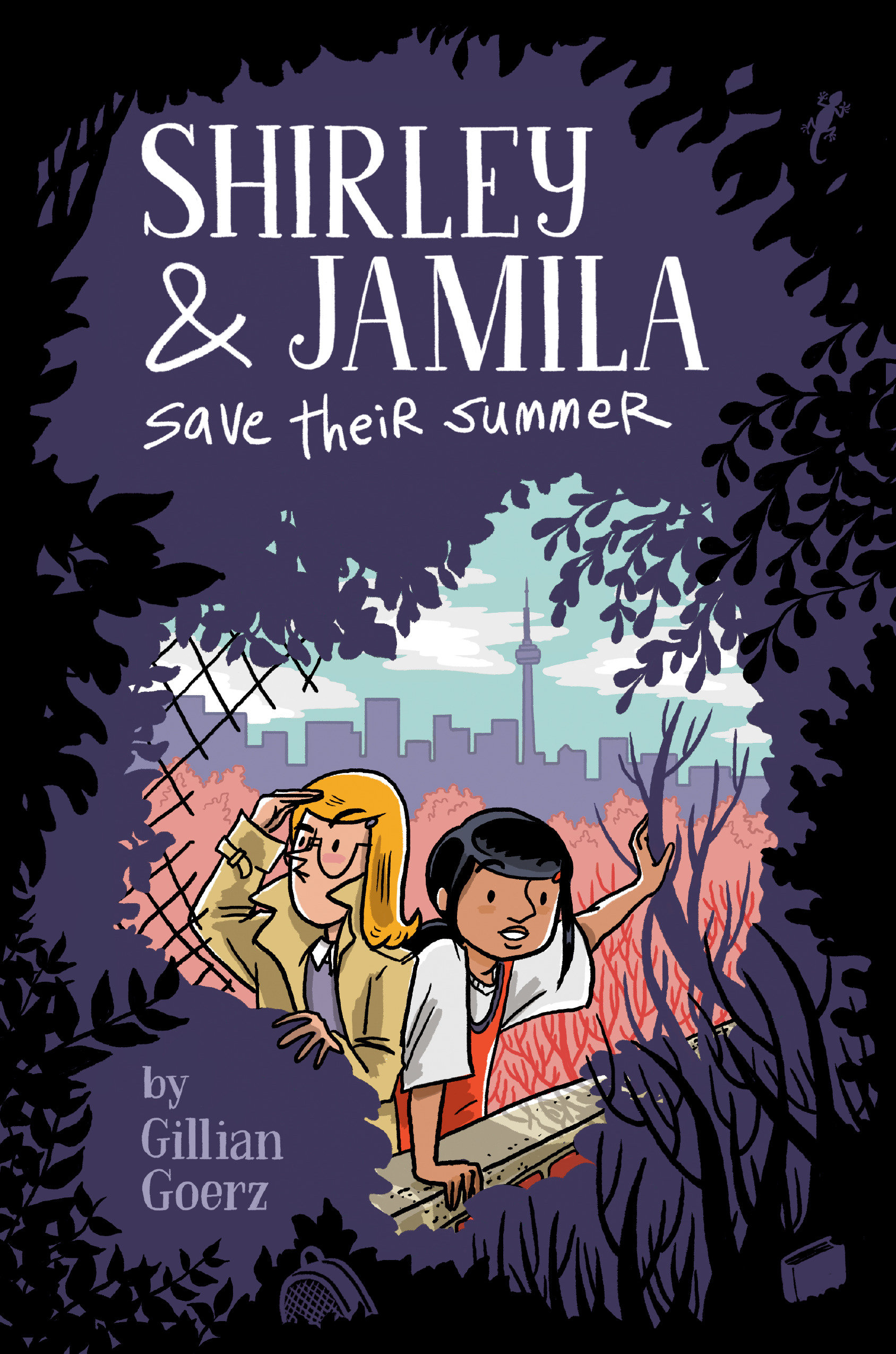 Cover Image of Shirley and Jamila Save Their Summer