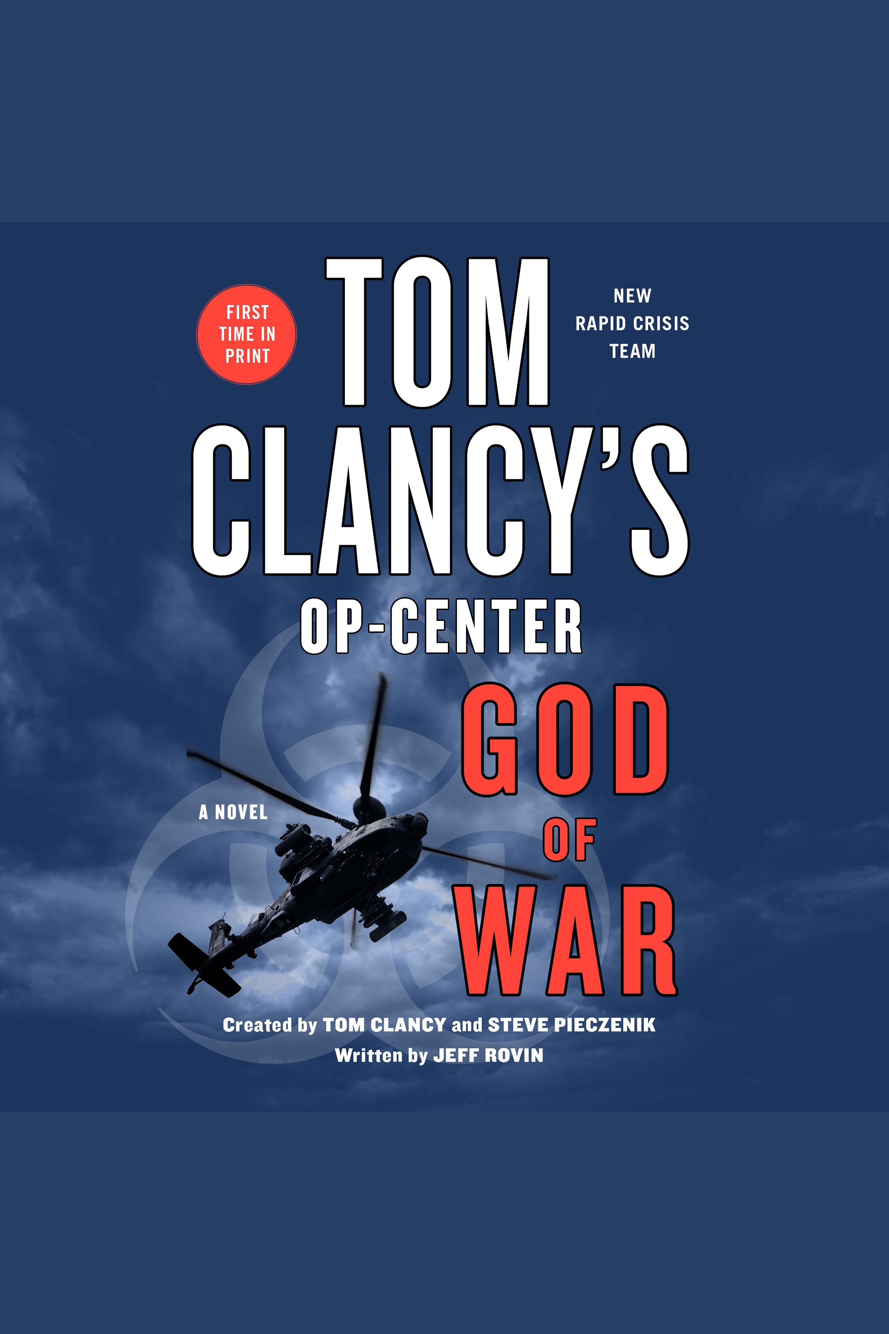 Tom Clancy's Op-Center: God of War A Novel