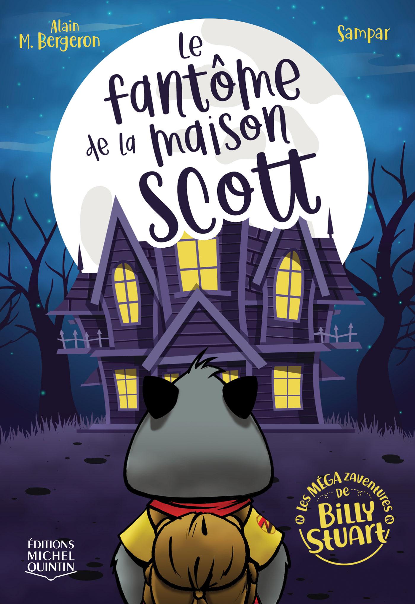 Cover Image of Le fantãome de la maison Scott
