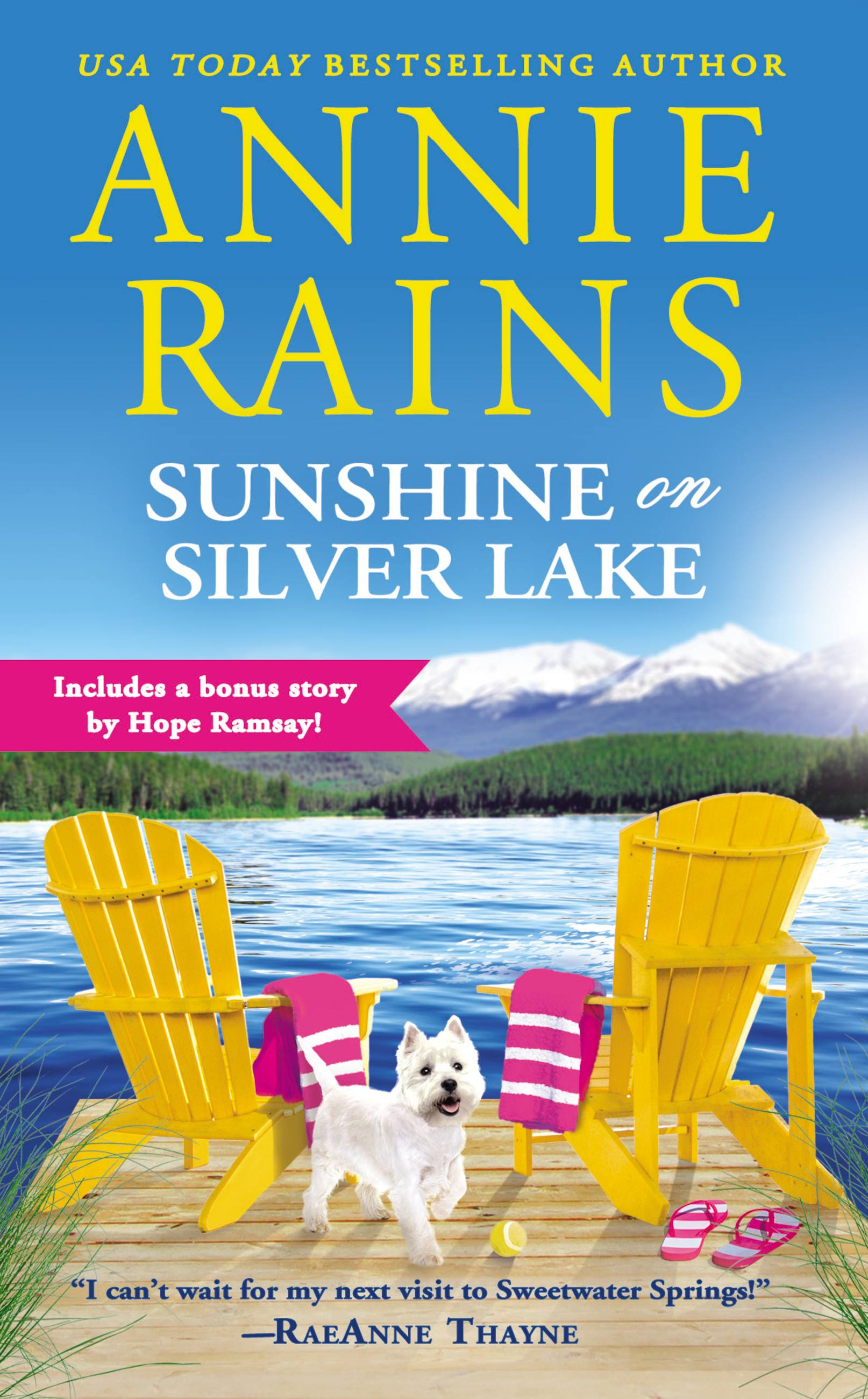 Sunshine on Silver Lake Includes a Bonus Novella