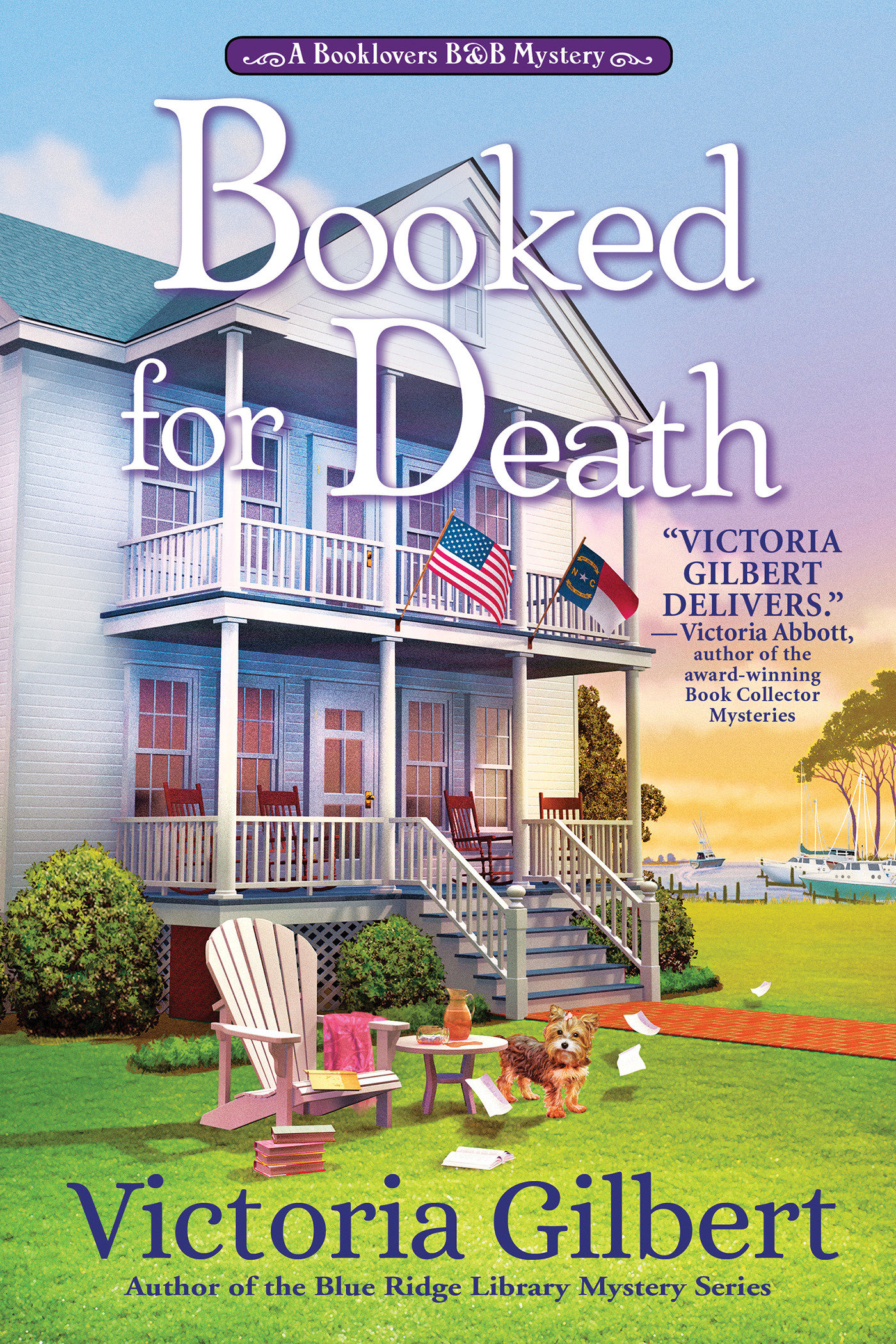 Booked for Death [electronic resource (downloadable eBook)] : a Booklover's B&B Mystery