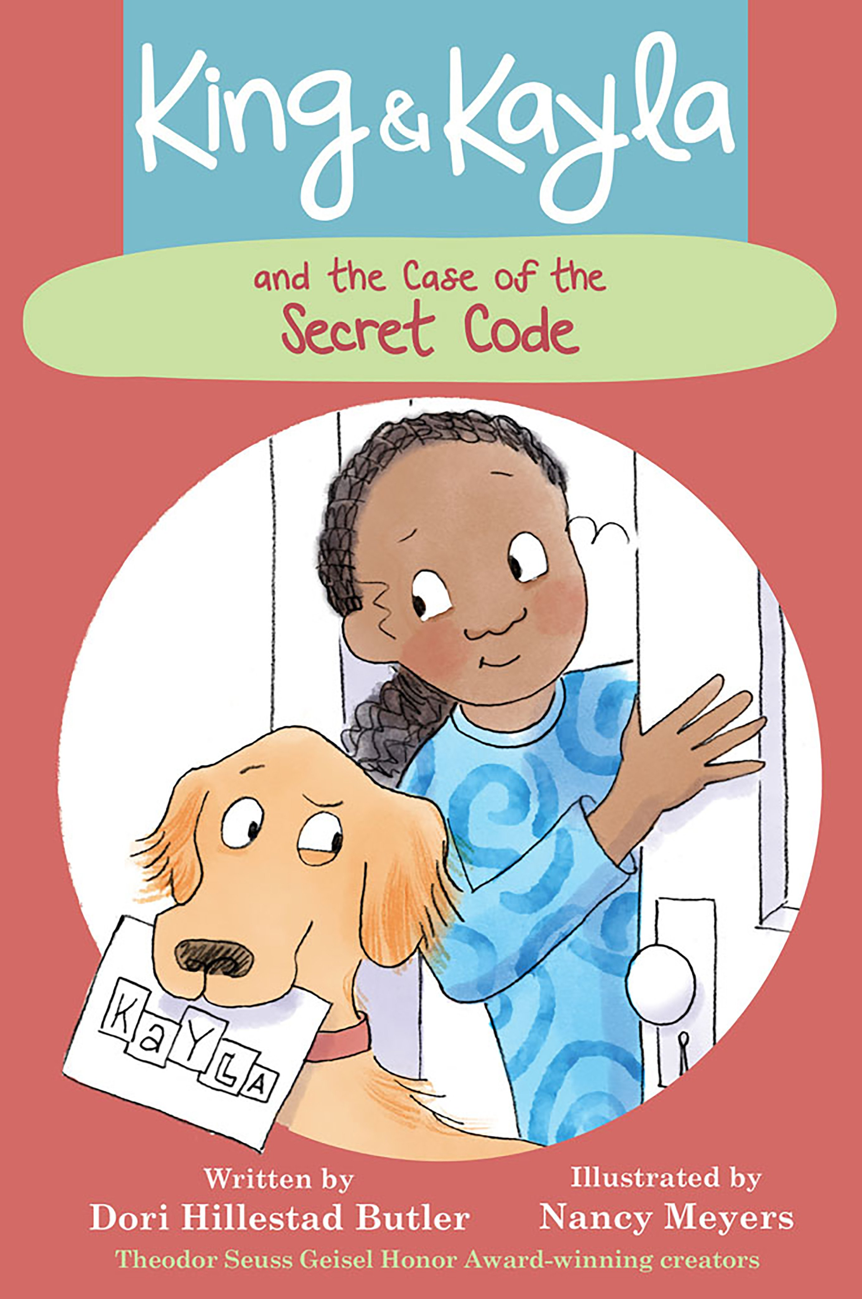 Cover Image of King & Kayla and the Case of the Unhappy Neighbor