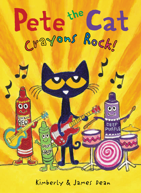 Cover Image of Pete the Cat: Crayons Rock!