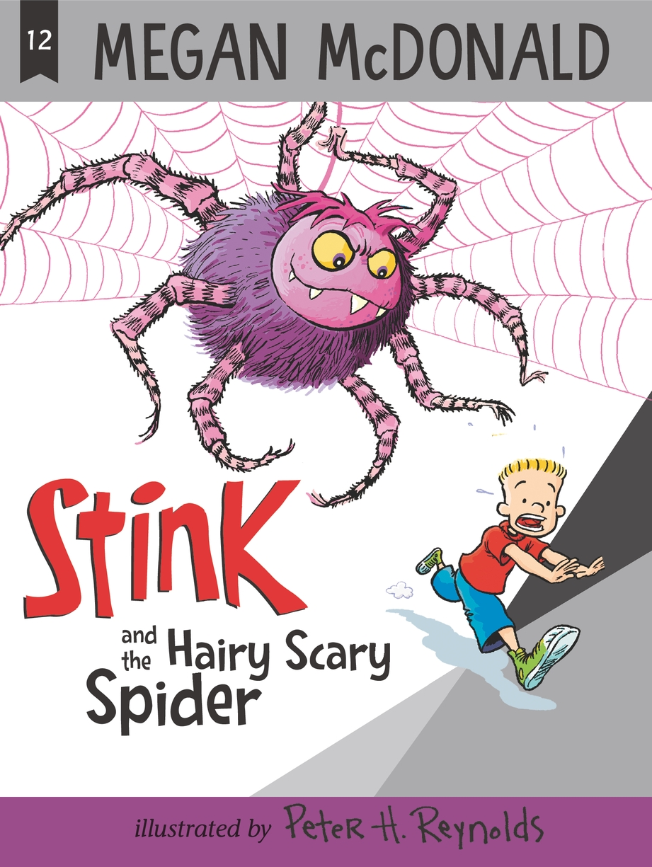 Cover Image of Stink and the Hairy Scary Spider