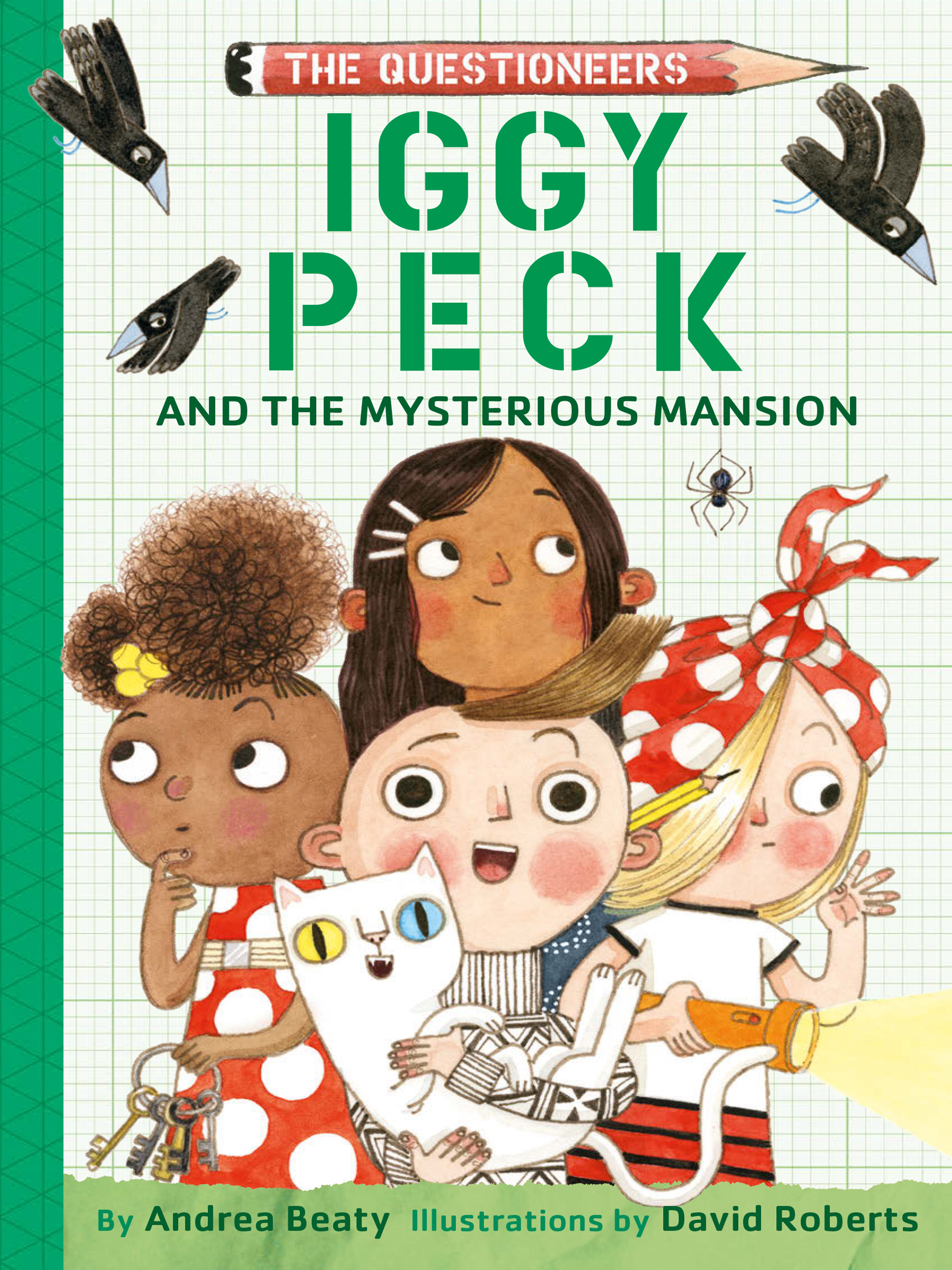 Cover Image of Iggy Peck and the Mysterious Mansion