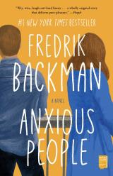 Anxious People by Fredrik Backman, book cover