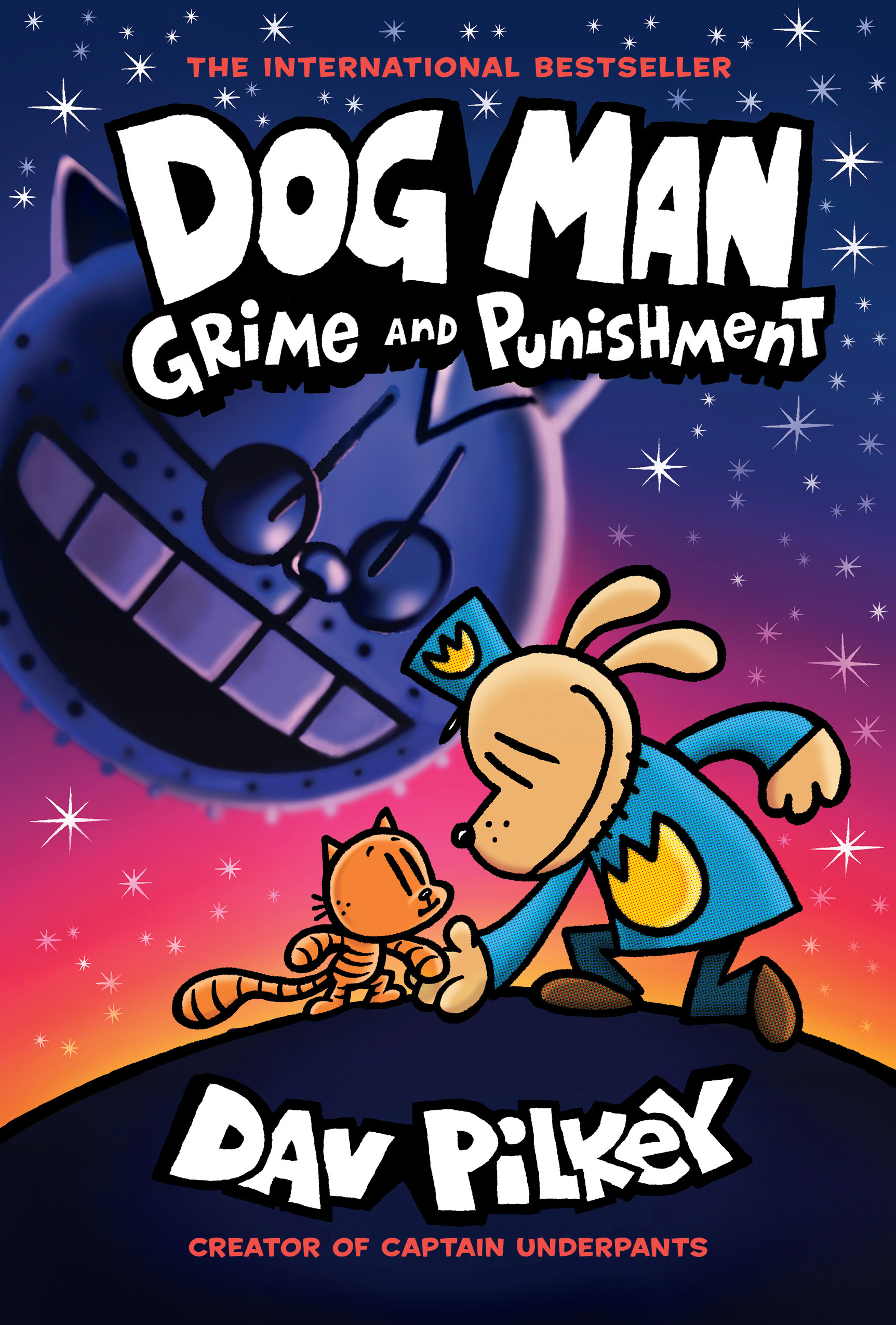 Dog Man: Grime and Punishment: From the Creator of Captain Underpants (Dog Man #9) [electronic resource (downloadable eBook)]