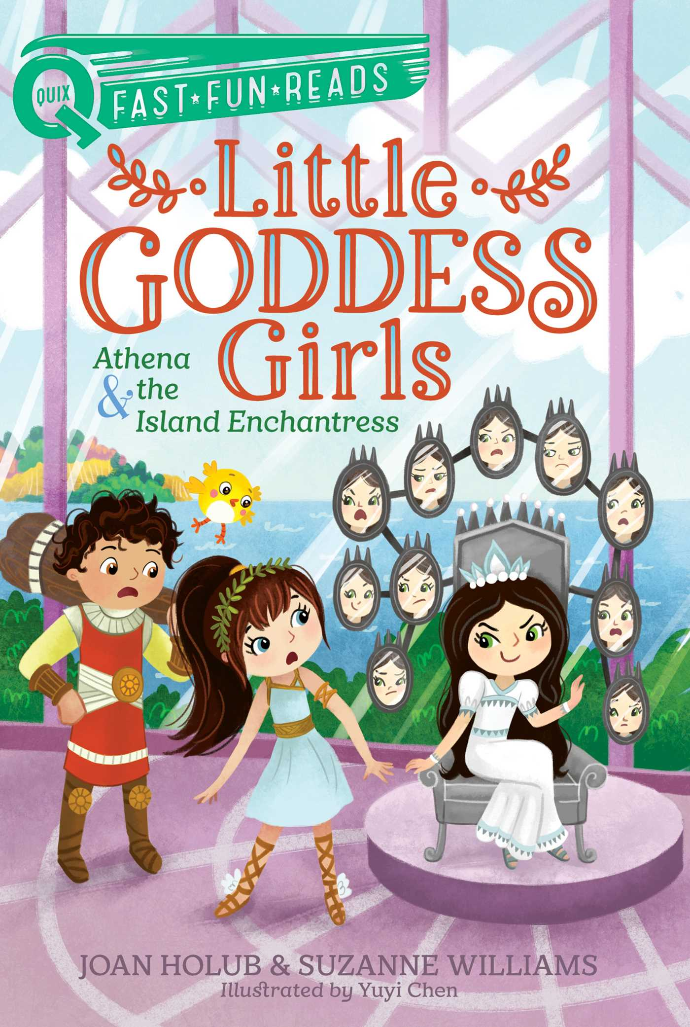 Athena & the Island Enchantress Little Goddess Girls 5