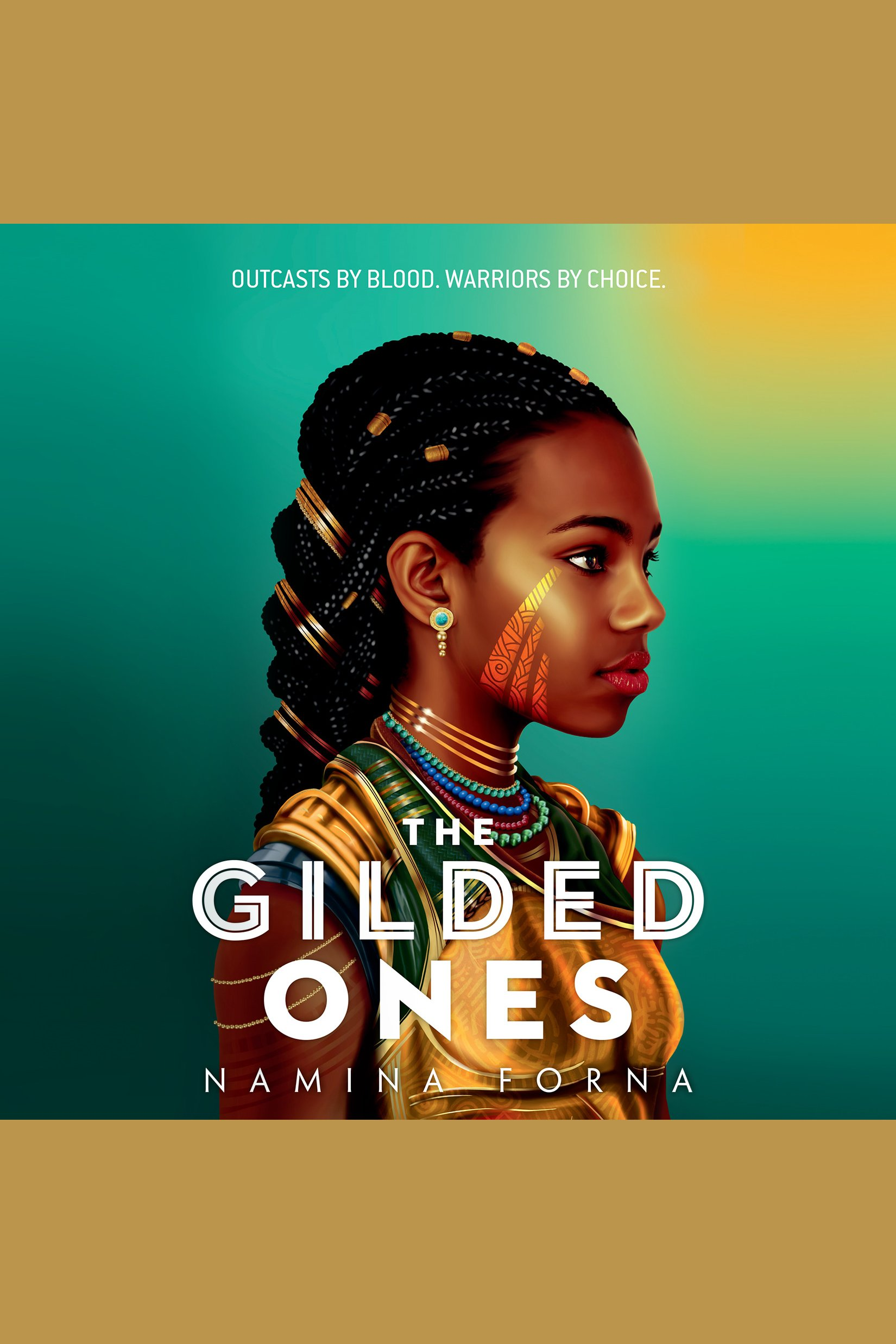 Cover Image of The Gilded One