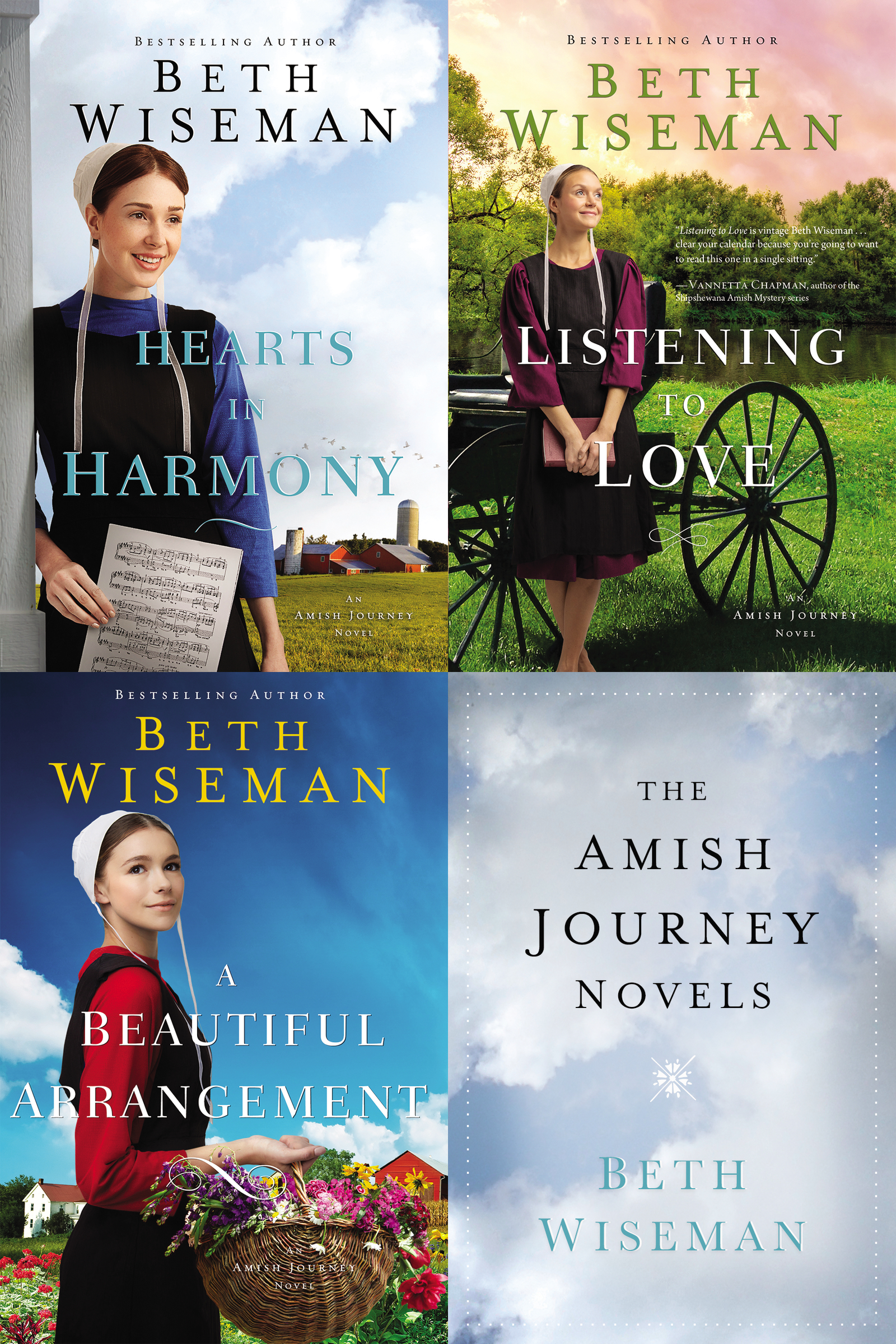 The Amish Journey Novels Hearts in Harmony, Listening to Love, A Beautiful Arrangement