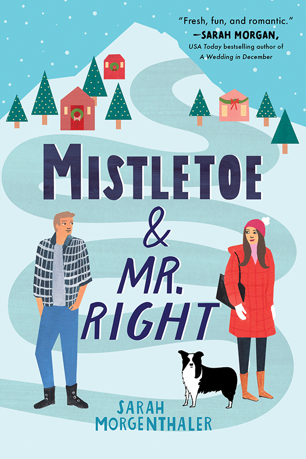 Cover Image of Mistletoe and Mr. Right