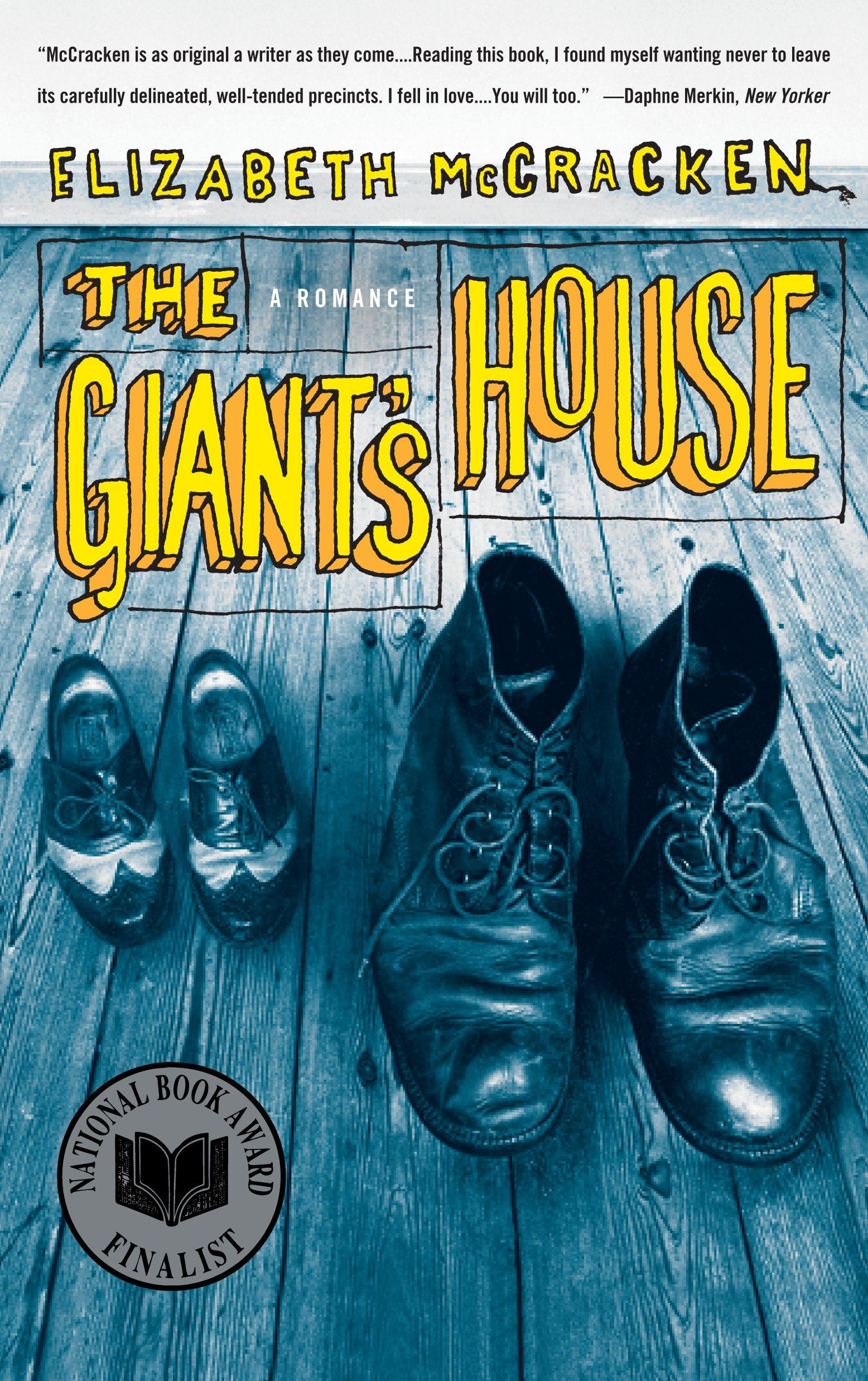The giant's house a romance cover image